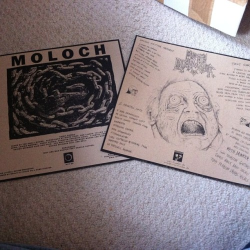 #moloch #methdrinker inserts in #sludge #doom #filth #hate #feastoftentacles