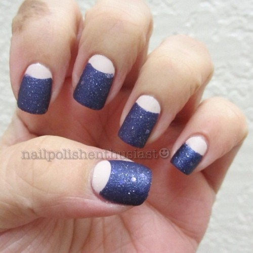nailpolishenthusiast:  Orly Decades Of Dysfunction, OPI Liquid Sand Can't Let Go and Hard Candy Matte-ly in Love Matte Top Coat #nailart #nailpolish #nailstagram #nailsofinstagram #opiliquidsand#opi#orly