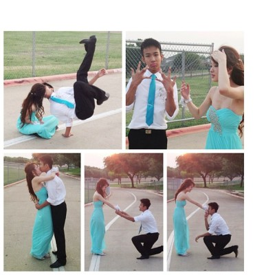 They so cute!! Mini photoshoot before their prom! @ohsnapitsjackie @heyitsjonathan #iphonequality