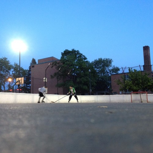 Playing #hockey like #oldtimes at #osu