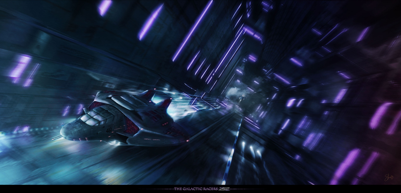 The Galactic Racers by *Shue13