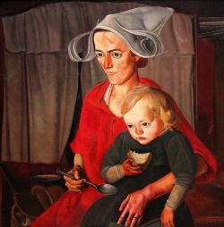 Boris Grigoriev - Poverty (1925)