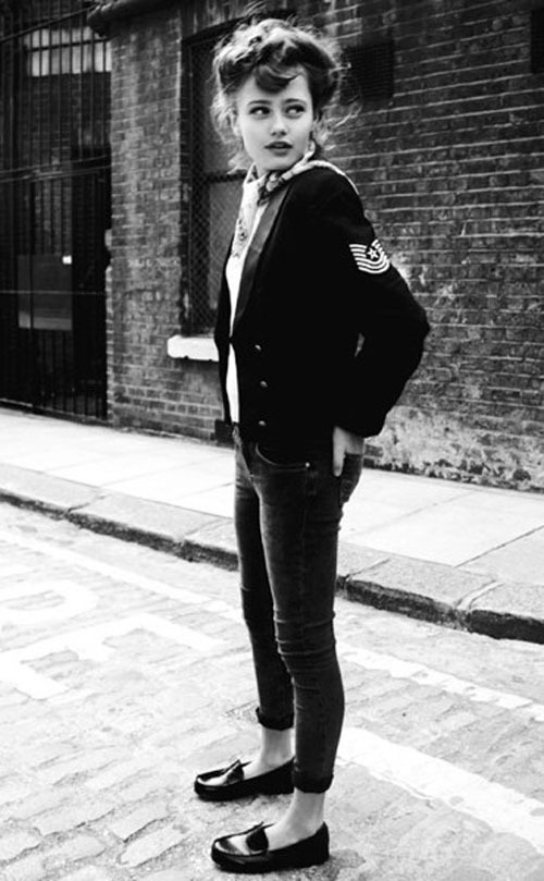 theclotheshorse:  Teddy Girl series by Ken Russell, 1955