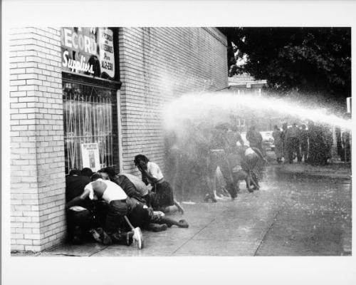 May 2, 1963: The Birmingham Campaign's Children's Crusade Begins On this day in 1963, the Children's Crusade began as hundreds of students walked out of their classrooms to peacefully protest segregation laws in Birmingham, Alabama. They were met by police officers who were ready to escort them to jail, and later by high pressure fire hoses and police dogs. It would become a major catalyst for the Civil Rights Act of 1964 and usher a new era of freedom and equality in the United States. Revisit this moment in civil rights history with PBS Black Culture Connection's Birmingham Campaign collection.   Photo: African American children are attacked by dogs and water cannons during a protest against segregation organized by Reverend Dr. Martin Luther King Jr. and Reverend Fred Shuttlesworth in May 1963 in Birmingham, Alabama (Photo by Michael Ochs Archives/Getty Images).