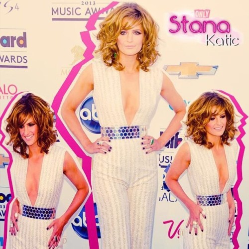 Stana #sexy freaking #hot  Katic!!!  🎀 💋 Was in the #BBMA without a bra! Nothing can be sexier than that. 😜✌#StanaKatic #actress #Castle #KateBeckett #CBGB #hairporn #legsporn #flawless #beautiful #perfect