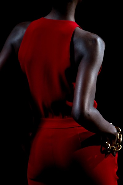 Lady In Red this #FashionFriday