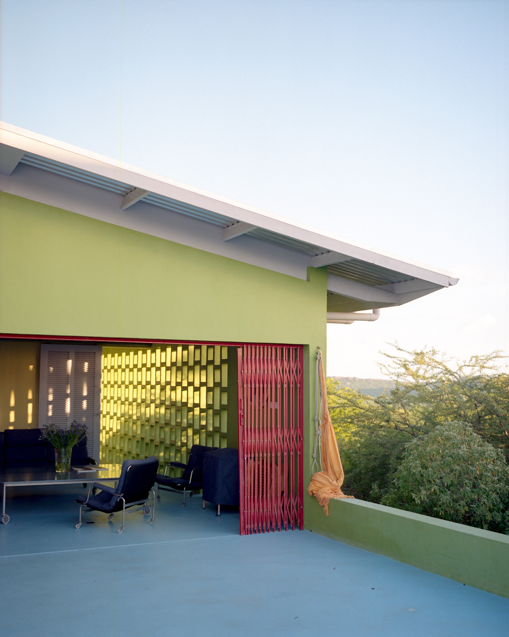 Architects Sofia Saavedra Bruno and Carel Weeber's house in Curaçao. Photographed as part of an assignment for enRoute magazine.