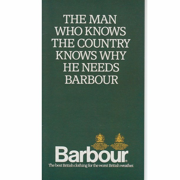 brykmeister:  #barbour   I scanned this a long time ago.  Nice to see it making the rounds again.
