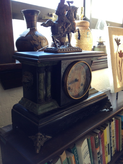 A collection of antiques from the late 1800s and early 1900s from the VDC shop.  In honor of the Sellwood-Moreland neighborhood's 124th birthday today! What's your favorite style form this era? Do you gravitate towards the rustic workmanship of the Arts & Crafts style or the regal Victorian, more delicate sensibilities?
