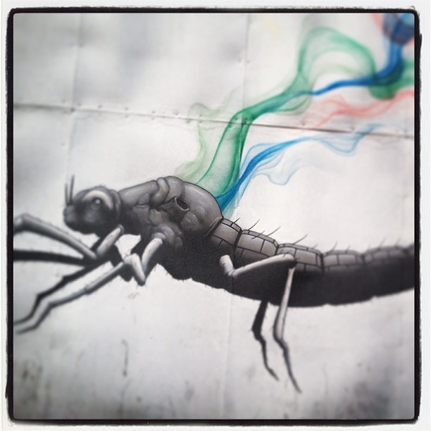 #Shok-1 #gallery #southeast #london #art #urban #streetart #bug #businesstrip #london #tourism
