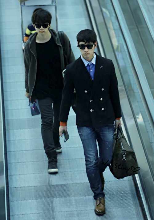 fyjunho:  130417 Incheon Airport (to Beijing)
