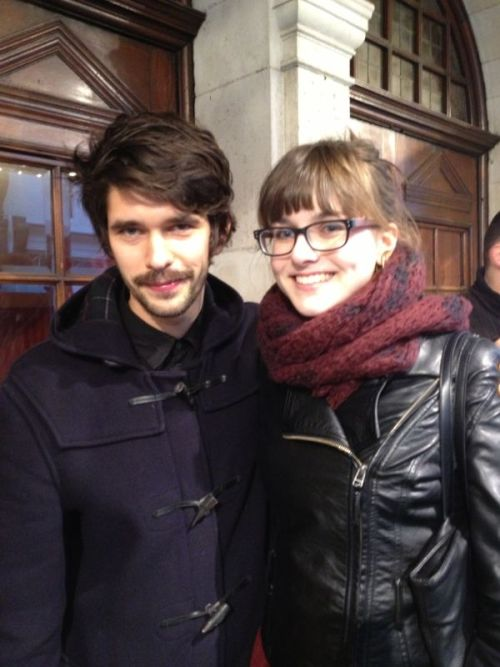suzannathedashing:  Oh hi Ben darling  Peter Llewellyn Davies haircut looking good! I saw a fan photo the other day and he looked rather moustachioed, so we shall see about his on-stage look.