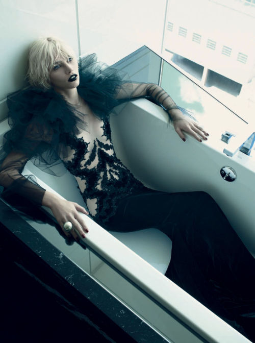 stormtrooperfashion:  Aline Weber by Emma Summerton for Vogue Italia, November 2011