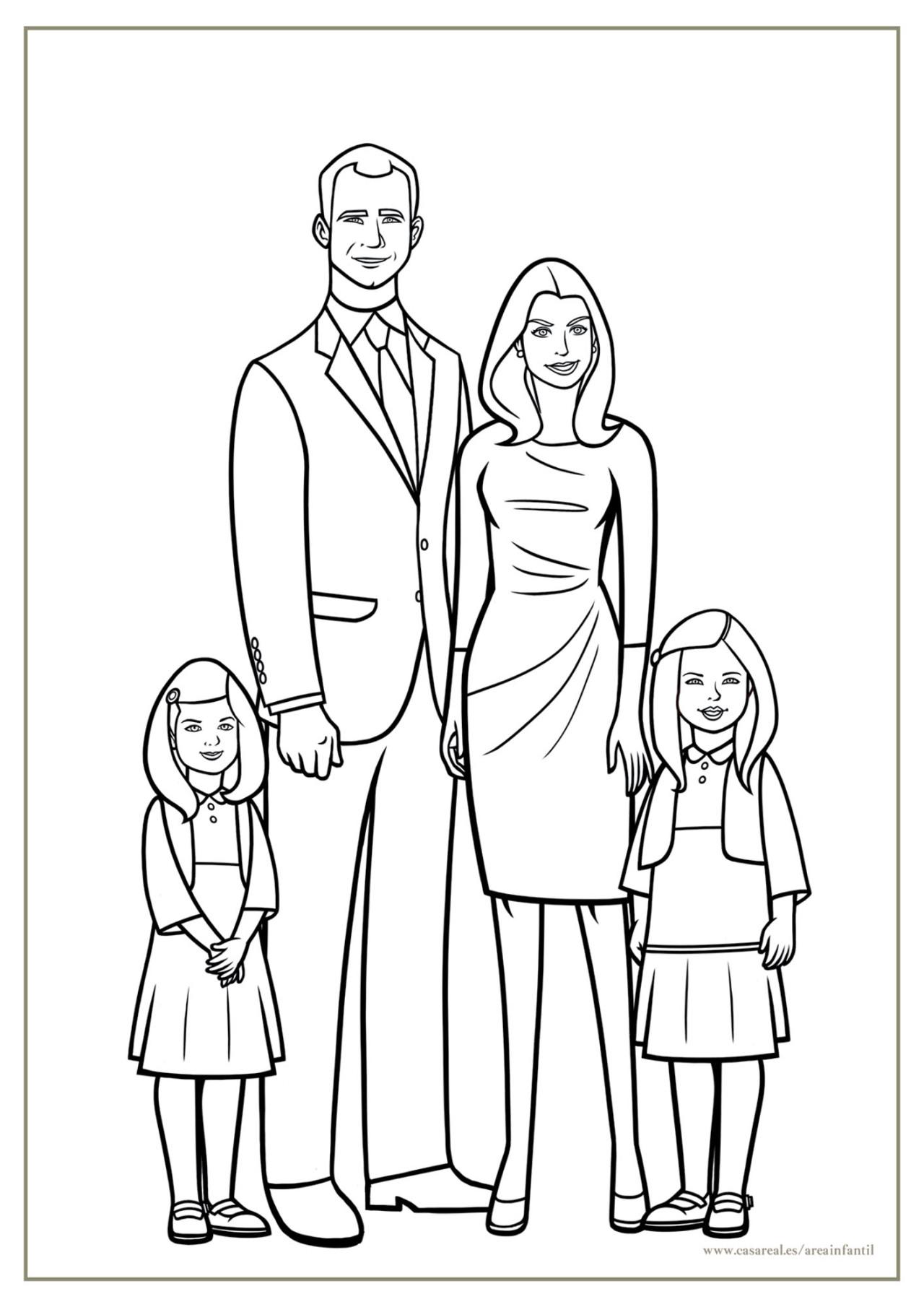 Nuevo Imagenes Para Colorear De La Familia Del 20