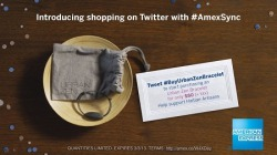 "On the blog: ""AMEX Sync Teams Up with Donna Karan to Benefit the Haiti Artisan Project"" What is AMEX Sync? —Did you know American Express Cardmembers can now make purchases via Twitter?!! http://www.firstclassfashionista.com/archives/59891"