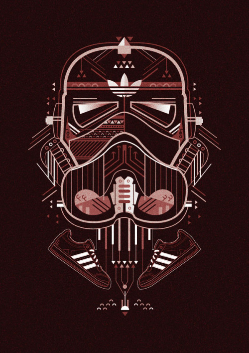 Adidas Darth Vader Illustration Illustrations created in 2012 by Petros Afsharfor. More illustrations by Petros Afshar on WE AND THE COLORWATC//Facebook//Twitter//Google+//Pinterest