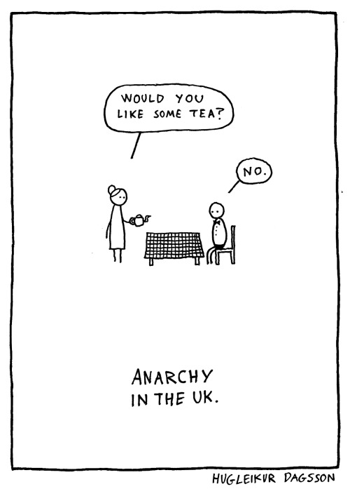hugleikurdagsson:  ANARCHY IN THE UK For some reason this is my most popular piece. I guess people really like anarchy. here be t-shirts for girls.and here for boys.