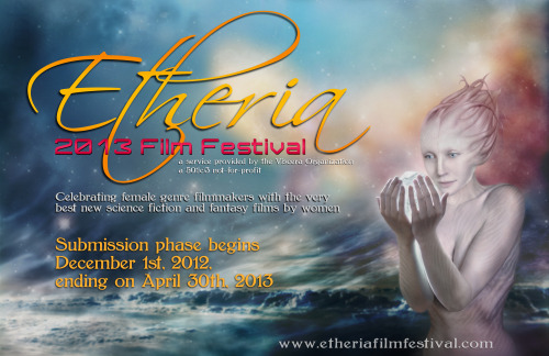 etheriafilmfest:  This year's art, which we're now able to share with the world, was created by artist Irene Langholm! Thank you, Irene! Which makes now a perfect time to remind everyone that we're still open for submissions! Head on over to our website, click on submissions, read our rules and send us your films!