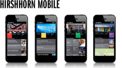 The Hirshhorn is pleased to announce the launch of its new mobile website. The intuitive, user-friendly design, developed in association with Homefront Communications, offers quick and easy access to essential information about the Museum's current and upcoming exhibitions, collection works on view (including a slide show of not-to-be-missed highlights for visitors with limited time), upcoming free public programs, and museum location and hours. The Hirshhorn encourages you to visit the mobile site at www.hirshhorn.si.edu and add the bookmark to your smartphone's home screen.