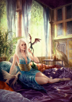shirokami-85:  Game of Thrones: Daenerys. by *Shilesque