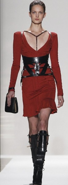 What Would Khaleesi Wear?Herve Leger by Max Azria House Targaryen harness dragon-riding wear