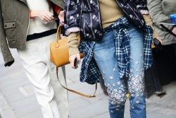 those jeans are amaze. and so is that layering.