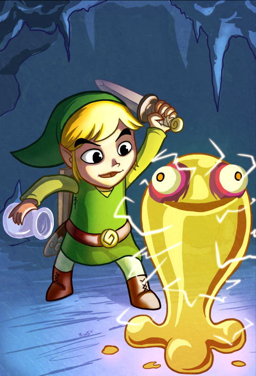 """How hard could it be?""Oh Toon Link… you noob. Making potions is serious business."