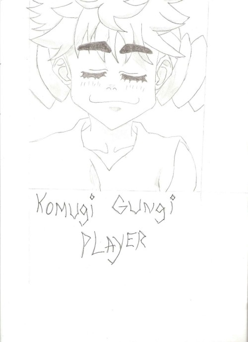 As I was reading hunter x hunter, I became intrigued by this character (Komugi), her character was very well done. She only appeared in a couple of chapters, but to be able to change an evil character so much made me enjoy her very much. So i decided to draw her.