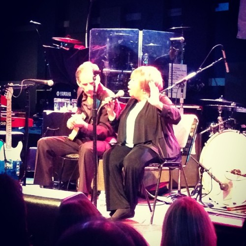 Mavis Staples at #Noncomm @WXPNfm