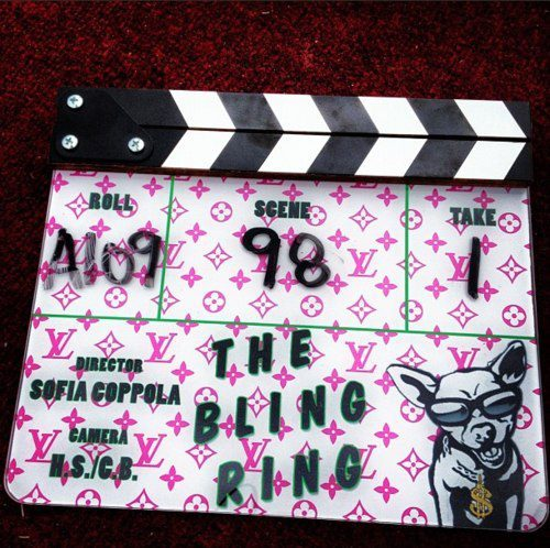 "sofiacoppolaofficial:  making of ""the bling ring"""