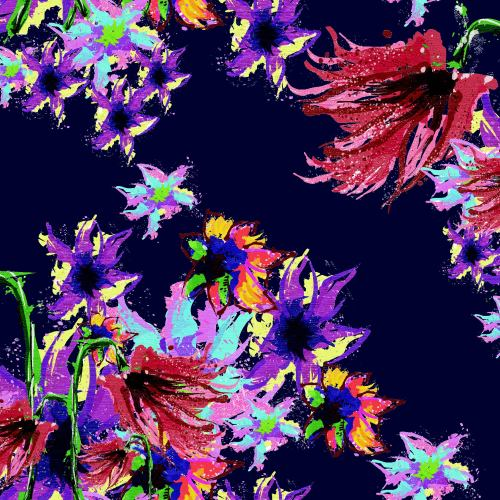 Floral development for Womens shirts. Too much?