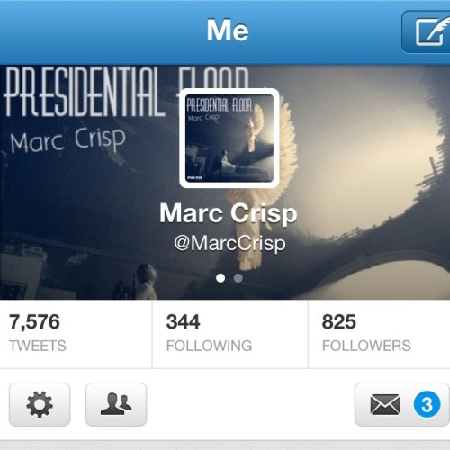Follow me on twitter.. @MarcCrisp
