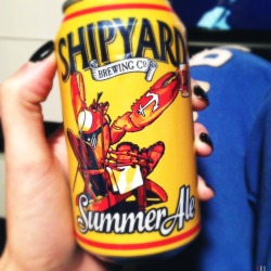 #summer #ale #shipyard feeling Lobstery 🍻#noms