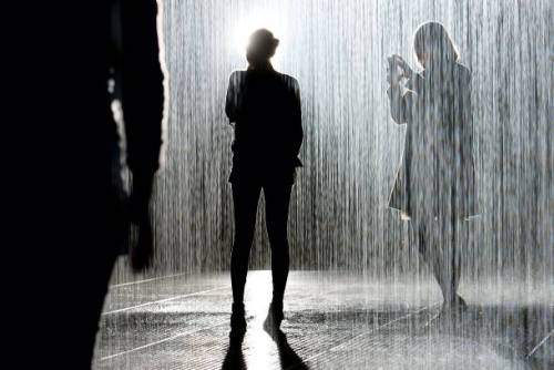 The Rain Room opens tomorrow at MoMA, can't wait to visit this.