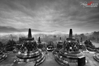Mystical View - Borobudur Temple