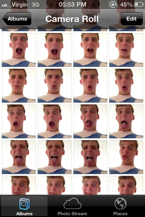 What happens when you leave your boyfriend alone with your phone for a minute.
