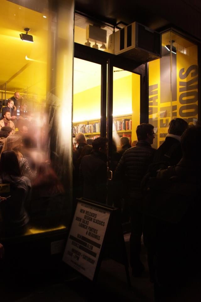 "We packed Van Alen Books to capacity last Thursday, January 31, to celebrate Mark Rakatansky's ""Tectonic Acts of Desire and Doubt,"" the latest in the Architecture Words series."