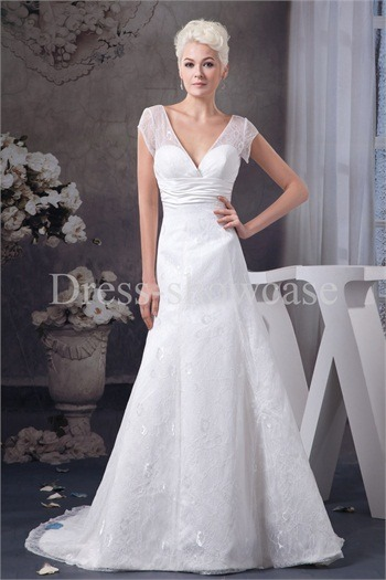 White Empire A-Line Zipper-back Sleeveless Wedding Dress http://www.Dress-ShowCase.com/White-Empire-A-Line-Zipper-back-Sleeveless-Wedding-Dress-p20971.htmlView Post