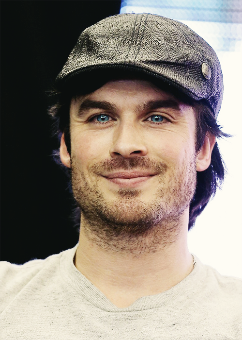 Ian Somerhalder at TVD Convention in Paris (May 18, 2013)