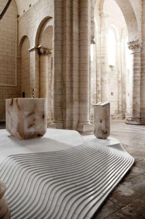 Church of St Hilaire by Mathieu Lehanneur