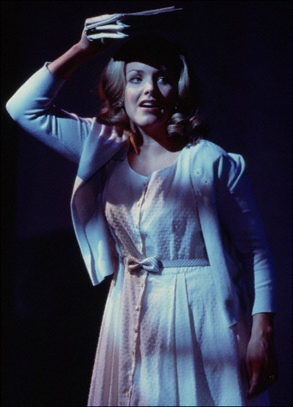 Alice Ripley as Janet Weiss - Richard O'Brien's The Rocky Horror Show [2000 Broadway Revival]she was one of the few things i enjoyed about this particular production