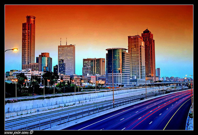 Israel - Ramat-Gan rush hour by xnir on Flickr.