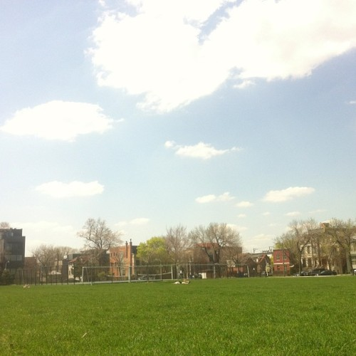In need of puppy dog to lay with me. (at Smith Park)