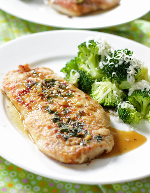 foodopia:  parsley and garlic chicken: recipe here