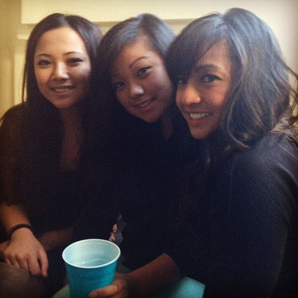 These ladies tho… @_bbyg @marianefaith #sisters #triplethreat #loveem