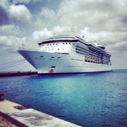 Just got home from a week long cruise to the Caribbean islands with my amazing wife #oneyearanniversary