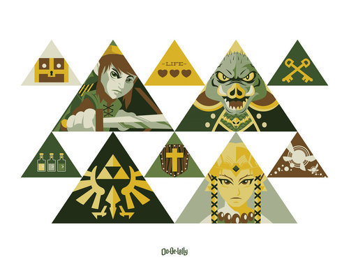 The Legend of Zelda by Weidel
