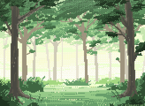 eyeburst:  Pixel forest