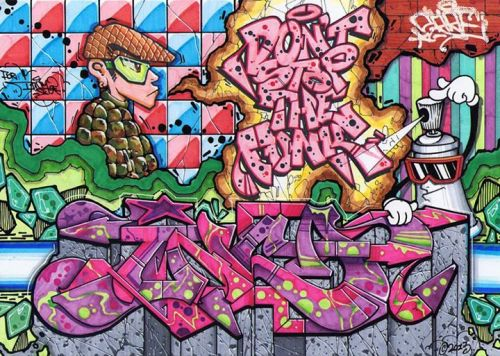 graffitishop:  Inca by Sare2