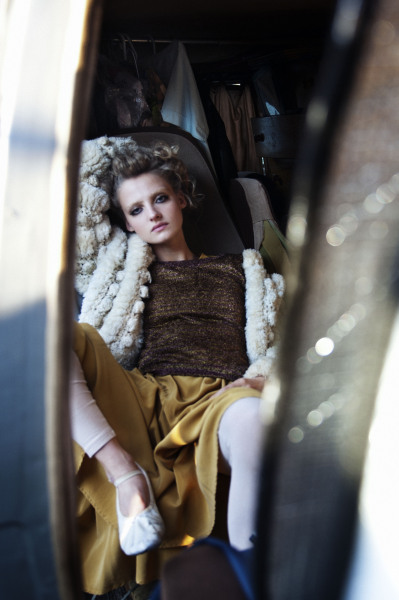 Amanda Nørgaard by Joachim Johnson for Smug Magazine SS 2012 Title: Act Natural Styling: April Johnson Hair: Thomas Dunkin Make-up: Asami Taguchi